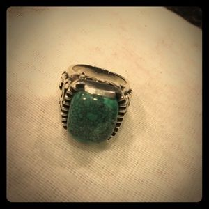 Torquise and .925 silver ring, hardly worn
